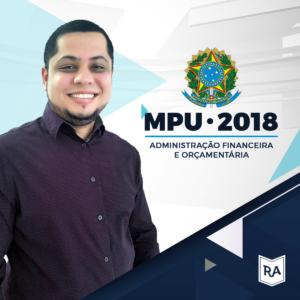 MPU 2018 - Administração Financeira e Orçamentária
