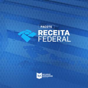 Pacote de cursos em PDF para Auditor Fiscal da Receita Federal