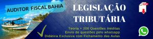 Como estudar Legislação Tributária da Bahia