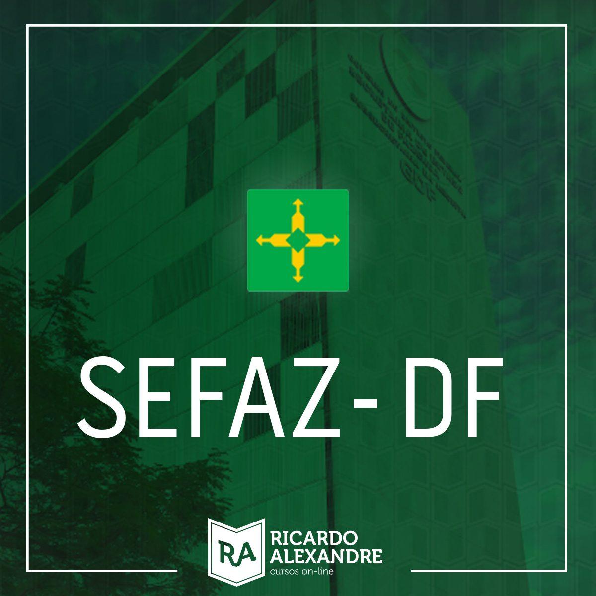 Legislação Tributária – SEFAZ DF – Auditor – PDF