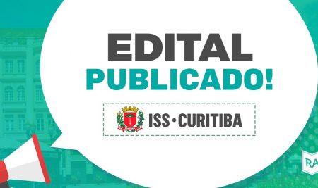 Edital Publicado: Auditor Fiscal de Curitiba (ISS Curitiba)