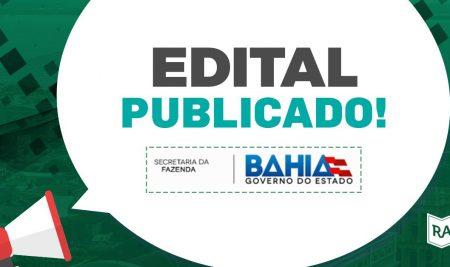 Concurso SEFAZ BA: Edital Publicado para 60 vagas de Auditor Fiscal