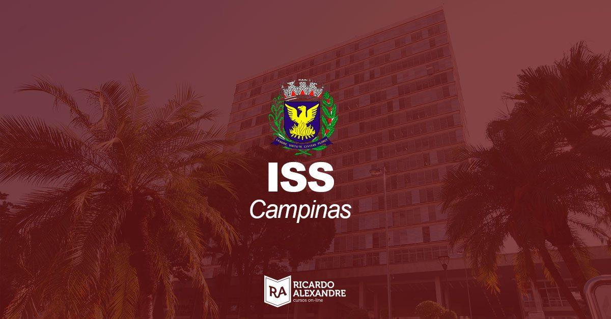 Concurso ISS Campinas – último dia para se inscrever para a prova