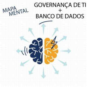Mapa Mental – Tecnologia da Informação – Combo Governança + Banco de Dados